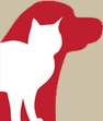 dog and cat logo